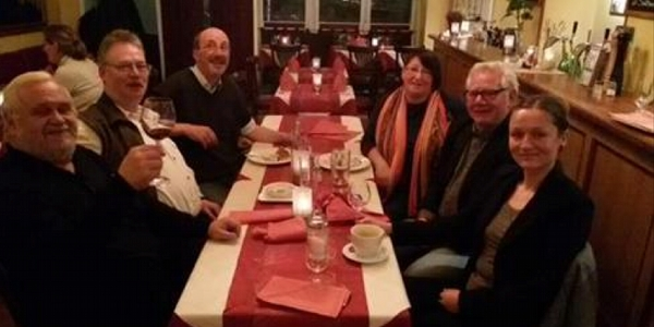 Fraktion Die LINKE. in der Bezirksversammlung Eimsbüttel, gemeinsames Weihnachtsessen