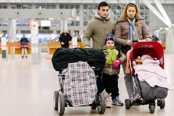 Hamburg, 06.12.14: Scheinabschiebung der Familie Seferovic
