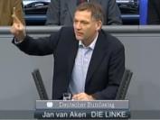 """Jan van Aken: """"Mit Waffenexporten fördern Sie Unsicherheit und Destabilisierung, das wissen Sie!"""""""""""