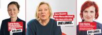 Zaklin Nastic, Katja Kipping & Dora Heyenn auf dem HoheLuftSchiff
